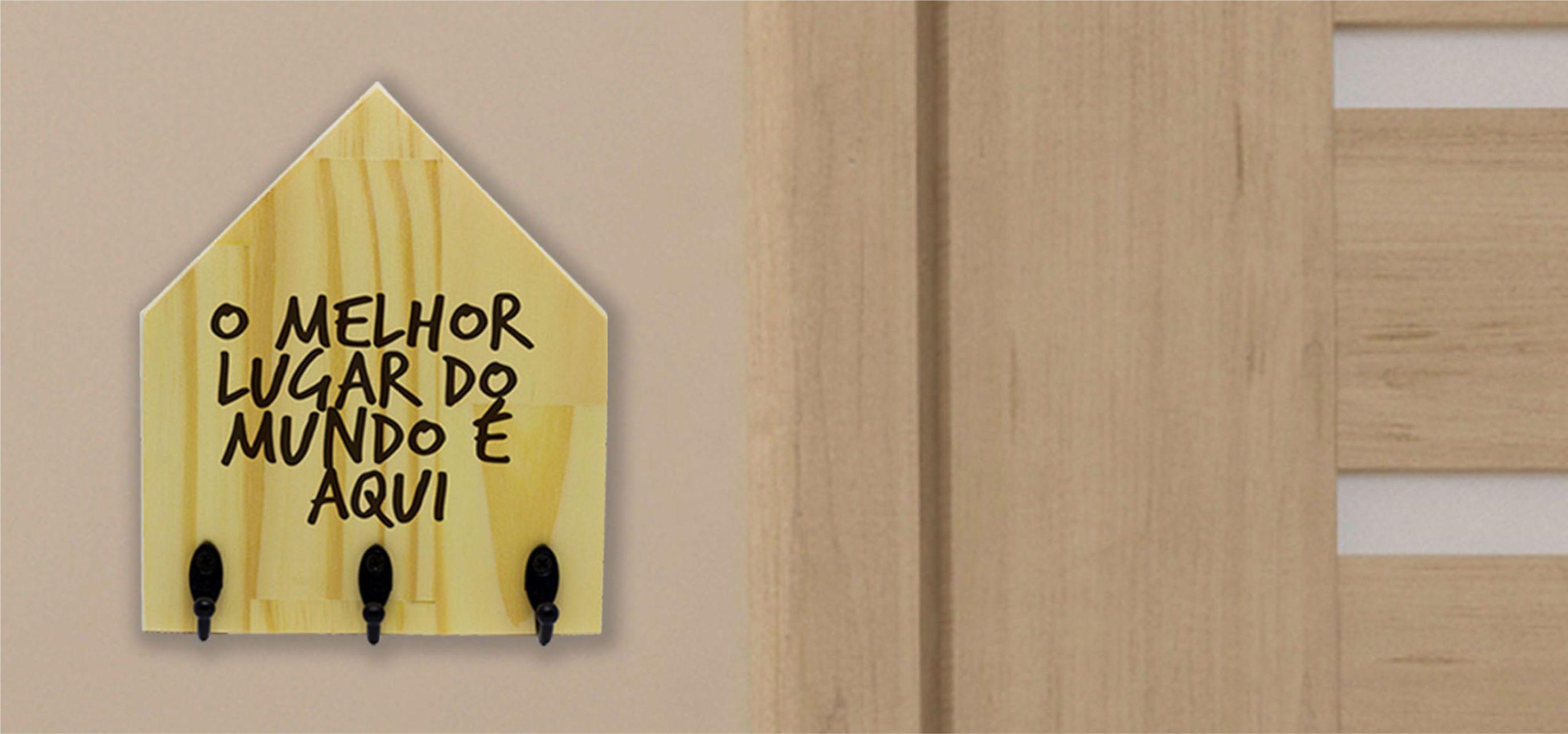 Porta-chave casinha