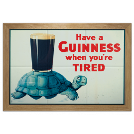 Quadro Guinness Tired