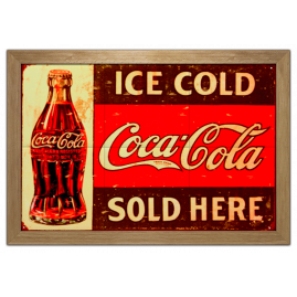 Quadro Ice Cold Coca-Cola