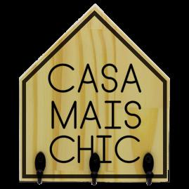 Quadro de Madeira com ganchos Chic