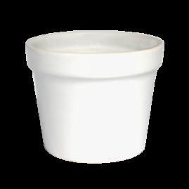Vaso Médio Branco